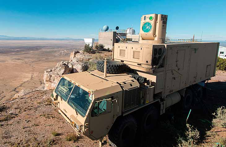 Forget enemy drones, this stryker 8x8 military vehicle has a high-energy laser that instantly destroys them