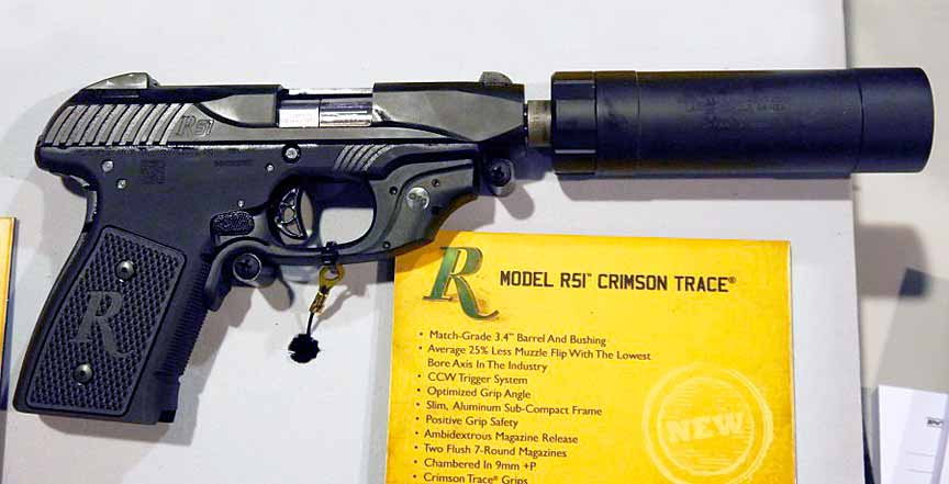 Пистолет Remington R51