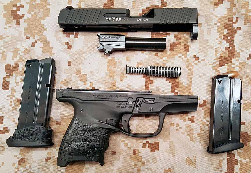 �������� �������� ��������� Walther PPS M2
