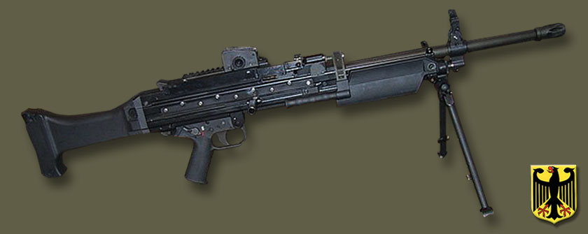 Пулемет Heckler-Koch MG 43