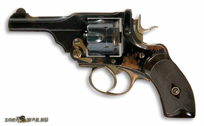 Револьвер Webley & Scott pocket M1897