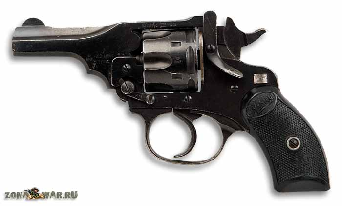 Револьвер Webley & Scott pocket M1901